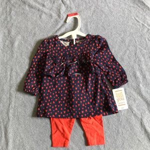 NWT Just One You by Carter's baby girl outfit